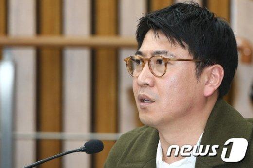 노승일 K스포츠재단 부장. /뉴스1 © News1 사진공동취재단