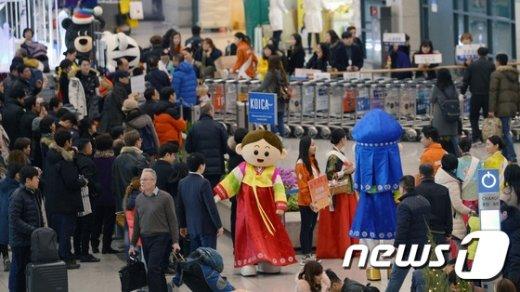 [사진]중국 춘절, 문체부 중국관광객 14만명 방문 전망