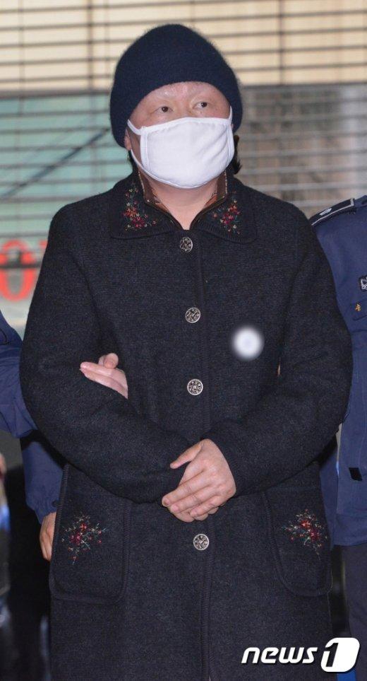 [사진]김경숙, 설연휴 마지막날 재소환