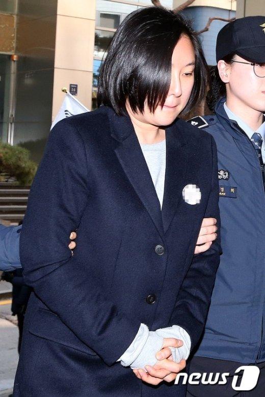 [사진]특검, 설연휴 마지막날 장시호 재소환