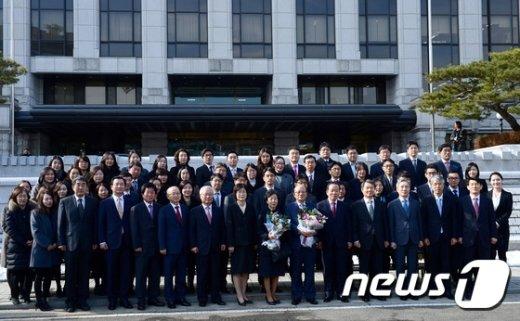 [사진]박한철 소장 퇴임