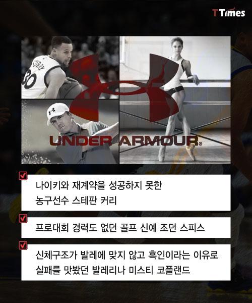 [카드뉴스] 전직 미식축구선수가 세계적 스포츠웨어를 만들었던 비결