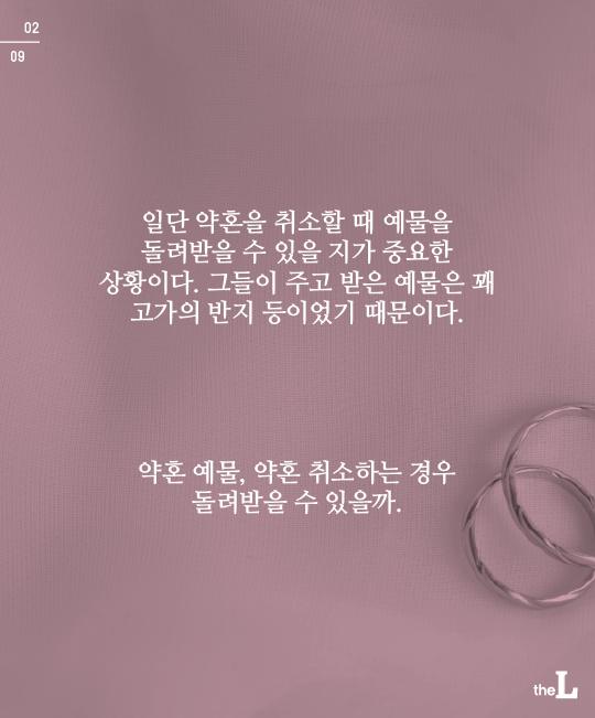 [카드뉴스] 파혼…예물은 돌려받을 수 있나