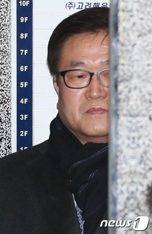 [사진]삼성 박상진 사장, 특검 출석