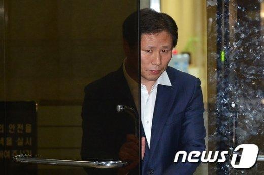 안봉근 전 청와대 국정홍보비서관. /뉴스1 © News1 민경석 기자