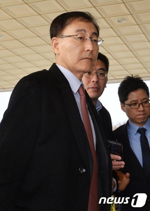 [사진]'최순실 수사' 넘겨받은 김수남 검찰총장
