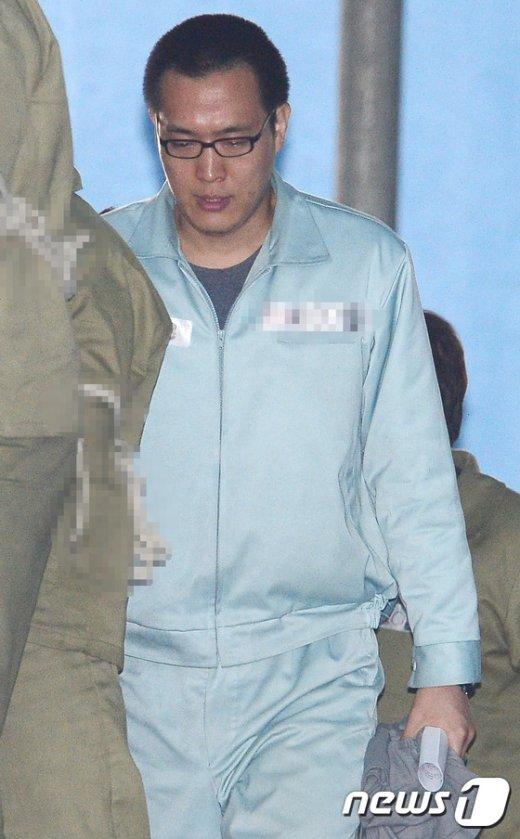 [사진]집행유예 받고 풀려나는 한화그룹 셋째 아들 김동선씨