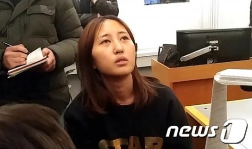최순실의 딸 정유라 @news1