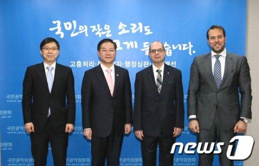 [사진]성영훈 국민권익위원장, 주한 이집트 대사 접견
