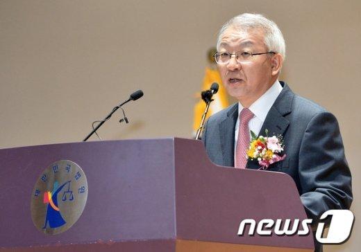 양승태 대법원장. © News1