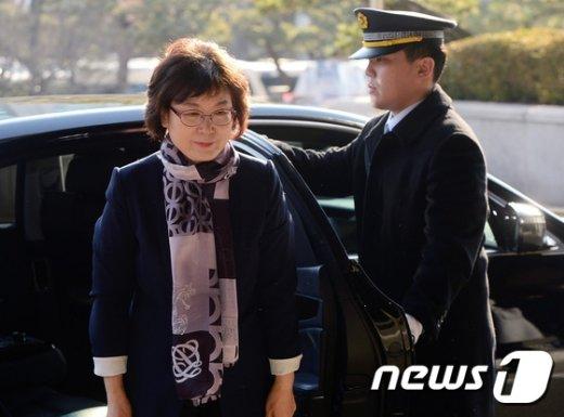 13일 퇴임하는 이정미 헌법재판소장 권한대행. © News1 최현규 기자