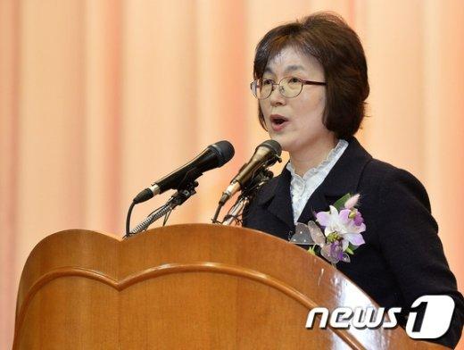 [사진]헌재 떠나는 이정미 권한대행