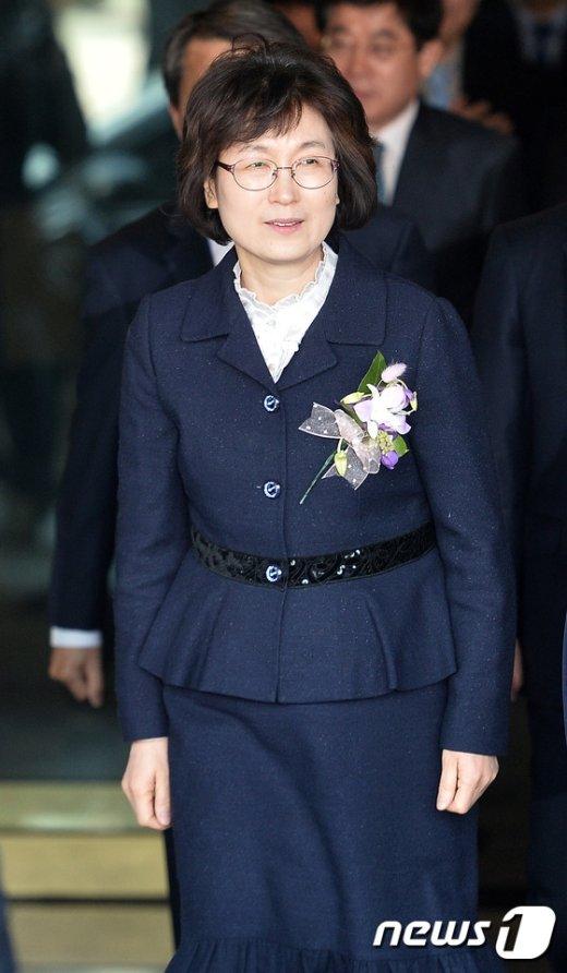 [사진]헌재 떠나는 이정미