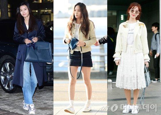 배우 전지현, 에프엑스 크리스탈, 소녀시대 서현 /사진=뉴스1, 머니투데이DB