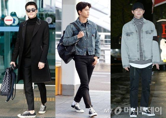 엑소 세훈, 2PM 택연, 배우 서인국 /사진=머니투데이DB