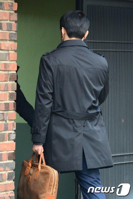 [사진]이영선 전 행정관, 박 전 대통령 자택으로 출근