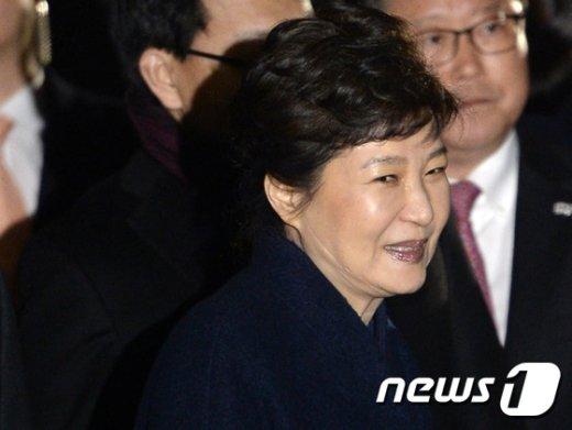 박근혜 전 대통령. 2017.3.12/뉴스1 © News1 안은나 기자
