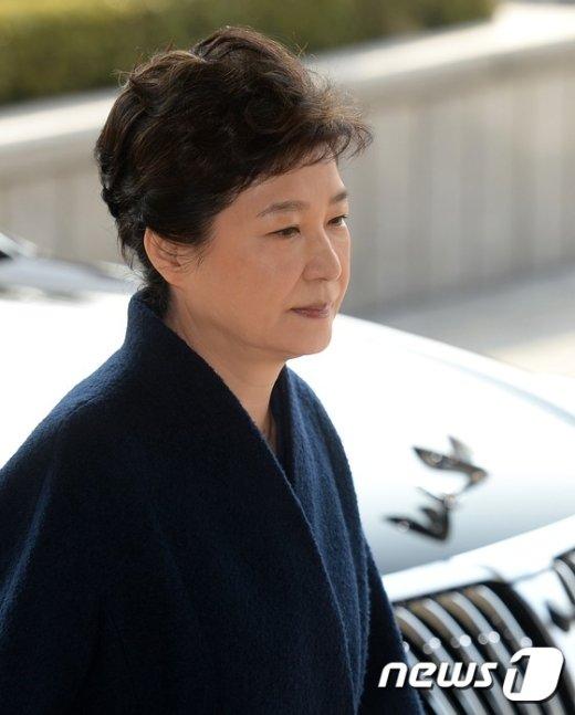 [사진]'피의자' 박근혜