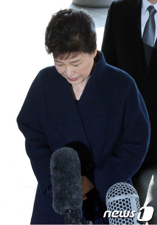 [사진]검찰 소환된 박근혜
