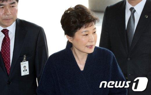 [사진]국민에 단 두 마디 남긴 박근혜