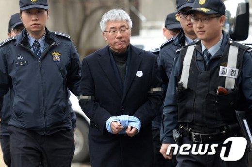 김종덕 전 문화체육관광부 장관 © News1