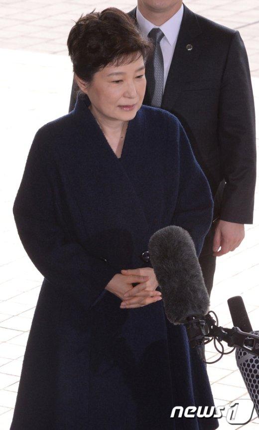 [사진]박근혜 전 대통령 '국민께 송구하다'
