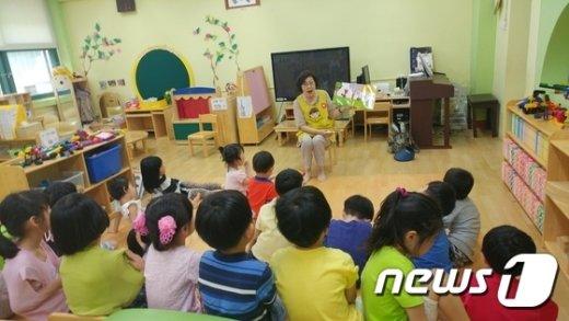 관악구 '머리맡 동화책 '사업. /뉴스1 © News1