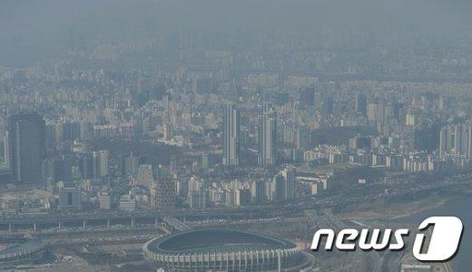 [사진]뿌옇게 흐린 서울 도심