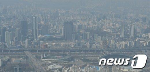 [사진]'미세먼지 자욱'