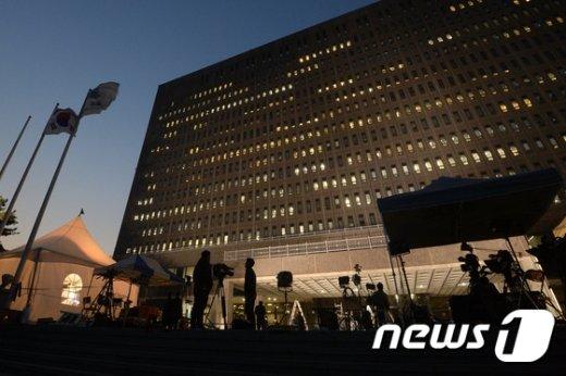 [사진]계속되는 박근혜 전 대통령 검찰조사