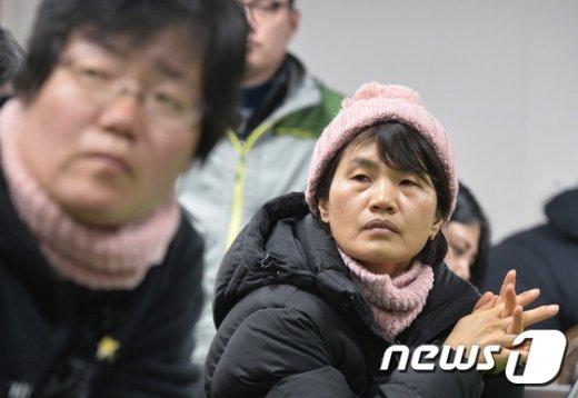 [사진]세월호 '오늘은 인양 할 수 있을까'