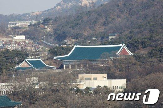 청와대 전경. 2017.3.10/뉴스1 2017.3.10/뉴스1 © News1 사진공동취재단