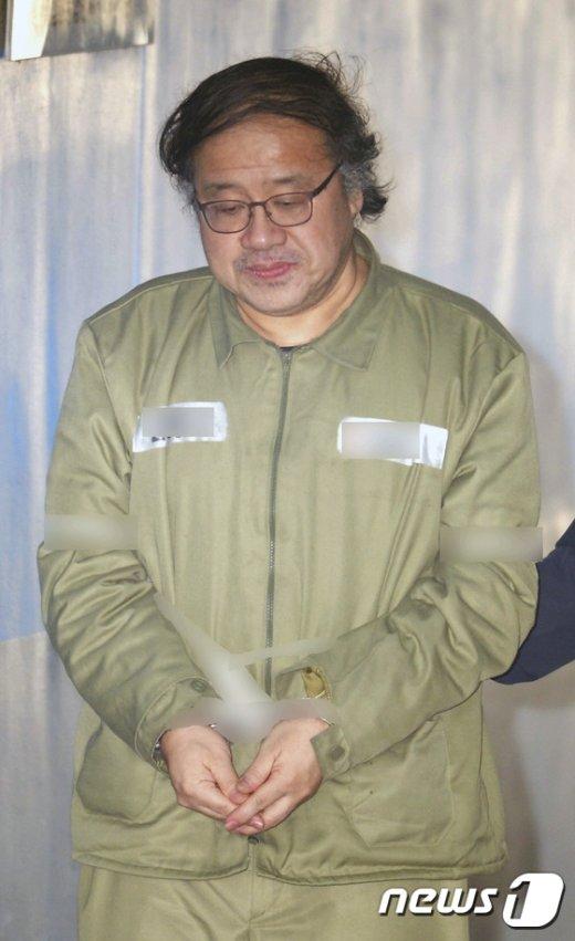 [사진]국정농단 재판 출석하는 안종범