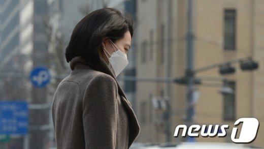 [사진]미세먼지 '나쁨'