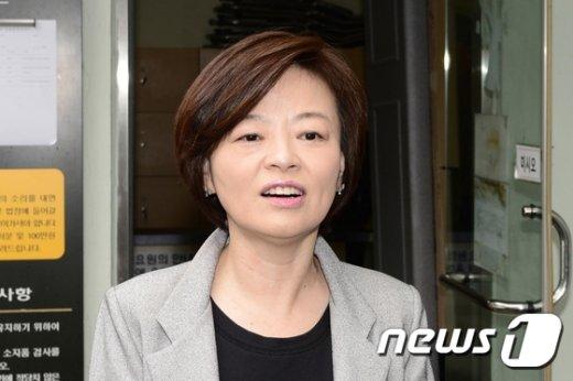 진선미 더불어민주당 의원. /뉴스1 © News1 박재만 인턴기자