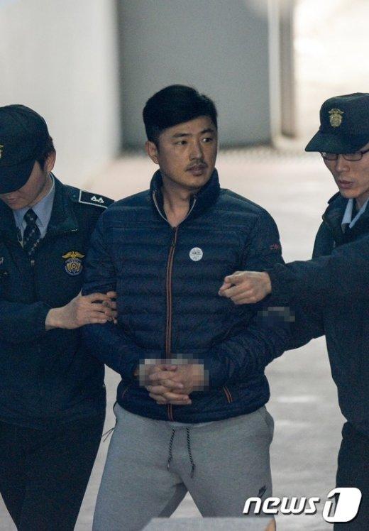 [사진]체포적부심 출석하는 고영태