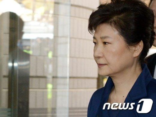 박근혜 전 대통령.© News1 사진공동취재단