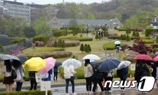 [사진]'봄비가 내려요'