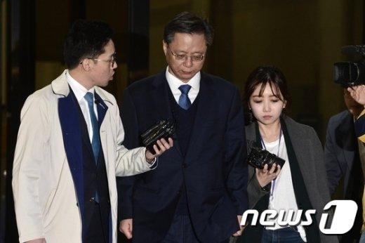 우병우 전 청와대 민정수석. © News1 민경석 기자