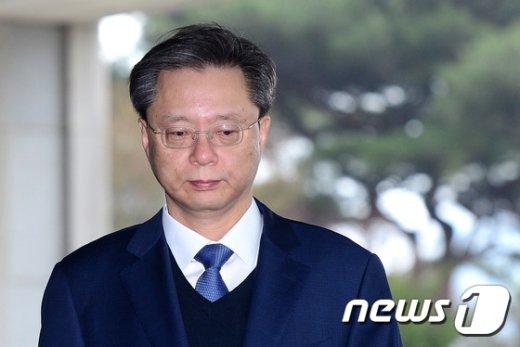 우병우 전 청와대 민정수석. © News1 박정호 기자