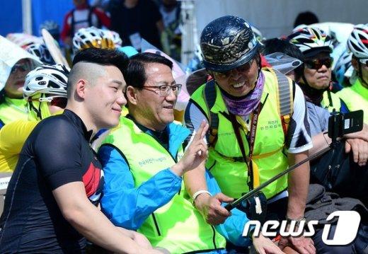 [사진]평창 동계올림픽 홍보 위해!