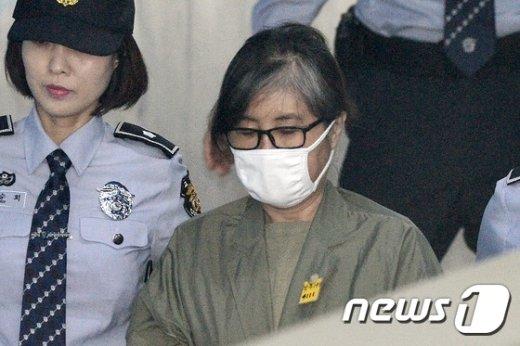 '비선실세' 최순실 씨. /뉴스1 © News1 민경석 기자
