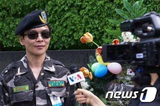 최정훈 북한인민해방전선 사령관. © News1