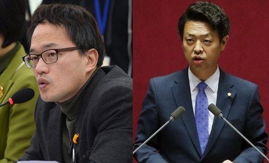 더불어민주당의 박주민 의원(왼쪽), 김영호 의원(오른쪽)/사진=뉴시스, 뉴스1