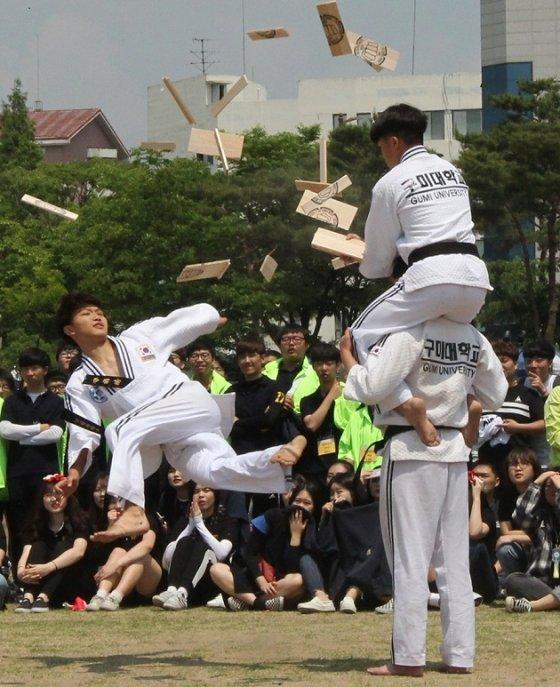 구미대, 열기 가득 채운 '가맛벌 축제' 성료