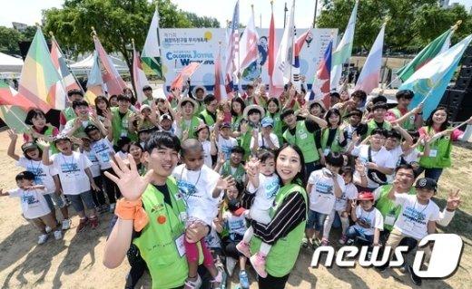 [사진]현대차, 국내 최대 다문화가정 어린이 축제 11년째 후원