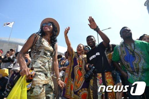[사진]DDP에서 열린 아프리카 축제