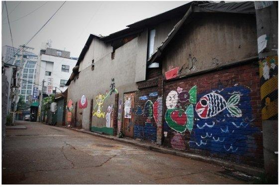 서울 영등포구 문래동에 위치한 '문래동 예술촌' 거리. /사진=한국관광공사