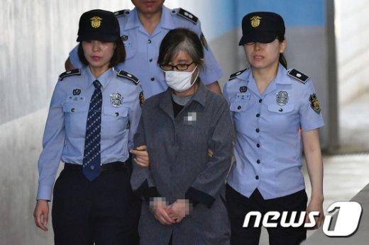 최순실 씨© News1 임세영 기자