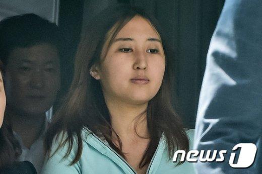 최순실씨의 딸 정유라씨. /뉴스1 © News1 사진공동취재단